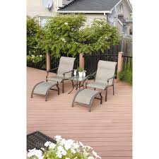 Patio Furniture York Pa by Interior Mainstays Alexandra Square Piece Patio Conversation Set