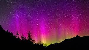 aurora borealis northern lights purple aurora borealis northern lights hiq theme on ps4 official