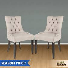 Linen Dining Chair Linen Tufted Dining Chairs Modern Chairs Design