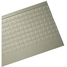 sure foot stair tread cover gray 48in w rubber 41r123 5448043