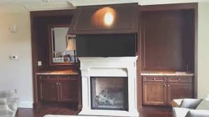 fireplace new fireplace pull down tv mount home decoration ideas