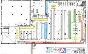 Floor Plan Of A Business Associated Supermarket Shares New Floor Plan Myrtle Avenue