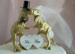 wedding cake toppers theme t rex dinosaur wedding cake topper gold dinosaur animal cake