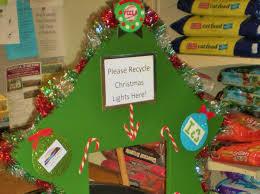 christmas lights recycling christmas lights decoration