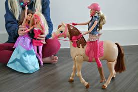 barbie saddle u0027n ride horse review the mummy diary