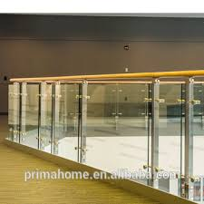 factory price outdoor balcony railing stainless steel frameless