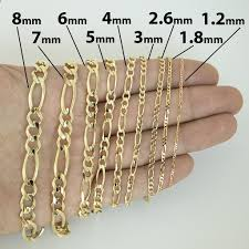 figaro chain gold necklace images 14k yellow gold 1 2mm classic figaro chain necklace 16 quot 18 quot 20 jpg