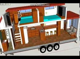 Floor Plan In Sketchup A Not So Tiny Tiny House Tiny House Design Using Sketchup