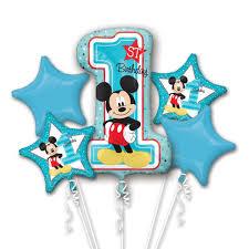 mickey mouse 1st birthday new mickey mouse 1st birthday balloons partyexpressinvitations