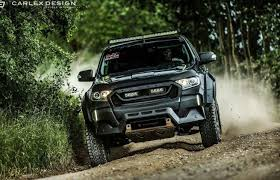 road ford ranger carlex and ms rt create ford ranger with road capability and