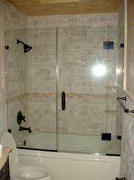 glass bathtub shower shield glass tub shower combo frameless glass