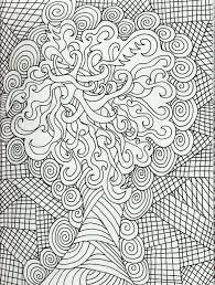 intricate coloring pages pdf kids coloring