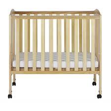dream on me 2 in 1 folding portable crib white walmart com