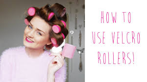 how to put rollersin extra short hair how to use velcro rollers tinytwisst youtube