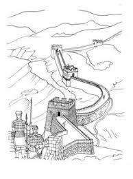 great wall of china by au ho nien 1935 china lingnan