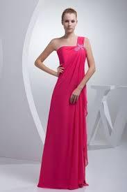etui linie one shoulder trager bodenlang chiffon brautjungfernkleid mit rusche p616 die 25 besten discount bridesmaid dresses ideen auf
