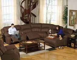 Modular Reclining Sectional Sofa Espresso Fabric Compass Modular Sectional Sofa W Options