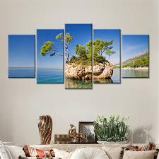home decor drop shipping aliexpress com buy drop shipping 5 pieces seaside island blue