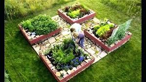 Raised Vegetable Garden Layout Garden Designs Vegetable Vegetable Garden Ideas For Small Yards