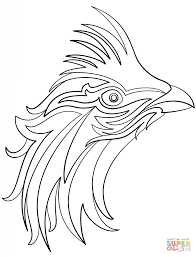 abstract owl coloring page free printable coloring pages