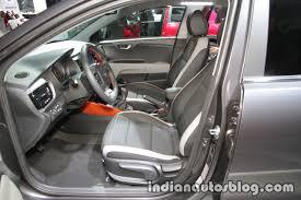 kia stonic front seats at iaa 2017 indian autos blog