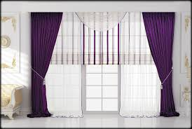 Home Decor Design Draperies Curtains Bedroom Design Bedroom Violet Drapery Curtain Ideas In Bedroom