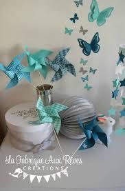chambre bébé turquoise moulins à vent décoration chambre enfant bébé turquoise caraïbe