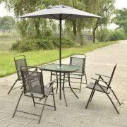 Patio Set With Umbrella Patio Tables With Umbrellas