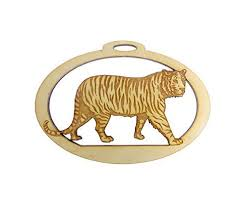tiger ornament tiger ornament tiger gift