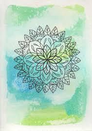 20 watercolor mandala ideas colorful mandala