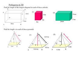 3d pythagoras by maffsy teaching resources tes