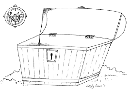 download coloring pages treasure chest coloring treasure