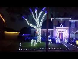 dallas cowboys christmas lights dallas cowboys christmas lights 2017 youtube