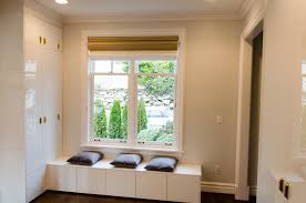 top of fridge storage window seats like these are something we do quite often we made