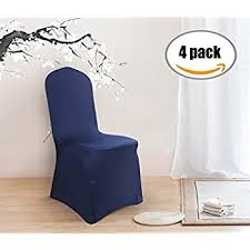 blue chair covers united curtain metro dining room chair cover 19 by 18