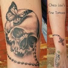 skull chico lou s tattoos