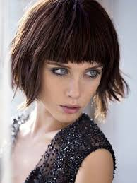 blunt cuts for fine hair short textured bob with bangs for fine hair hair world magazine