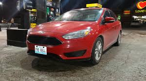 2015 Ford Focus Se Rental Review