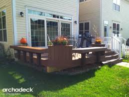 creative deck design ideas u2013 outdoor living with archadeck of