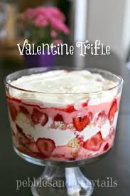 easy valentine trifle dessert making life blissful