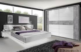 Schlafzimmer Komplett Led Rondino Von Forte Schlafzimmer Beton Optik Weiß Möbel Letz