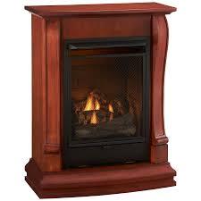 shop cedar ridge hearth 29 13 in dual burner vent free sienna