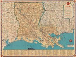 louisiana hwy map map