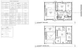 drafting sample u2013 life safety plan rlj of south florida u2013 bim works