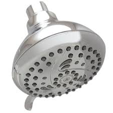 niagara conservation 5 spray 4 in vara spa fixed showerhead in