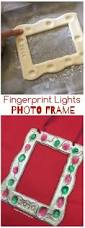 fingerprint lights photo frame christmas lights lights and clay