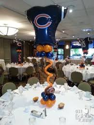 balloon arrangements chicago simply sporty centerpiece balloons balloondecorating lotparty