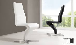 White Faux Leather Chair Whiteern Wood Dining Chairs Faux Leather Room Chairswhite 90