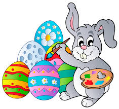 easter bunny transparent easter bunny with eggs png clipart picture gallery