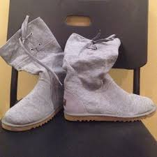 womens ugg lo pro boot chestnut 50 ugg shoes ugg lo pro drawstring grey boots from kate s